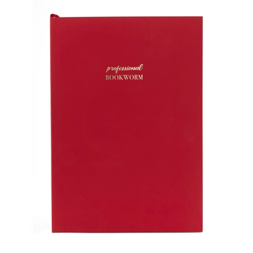 WORDSMITH A5 CHILLI RED NOTEBOOK | PROFESSIONAL BOOKWORM