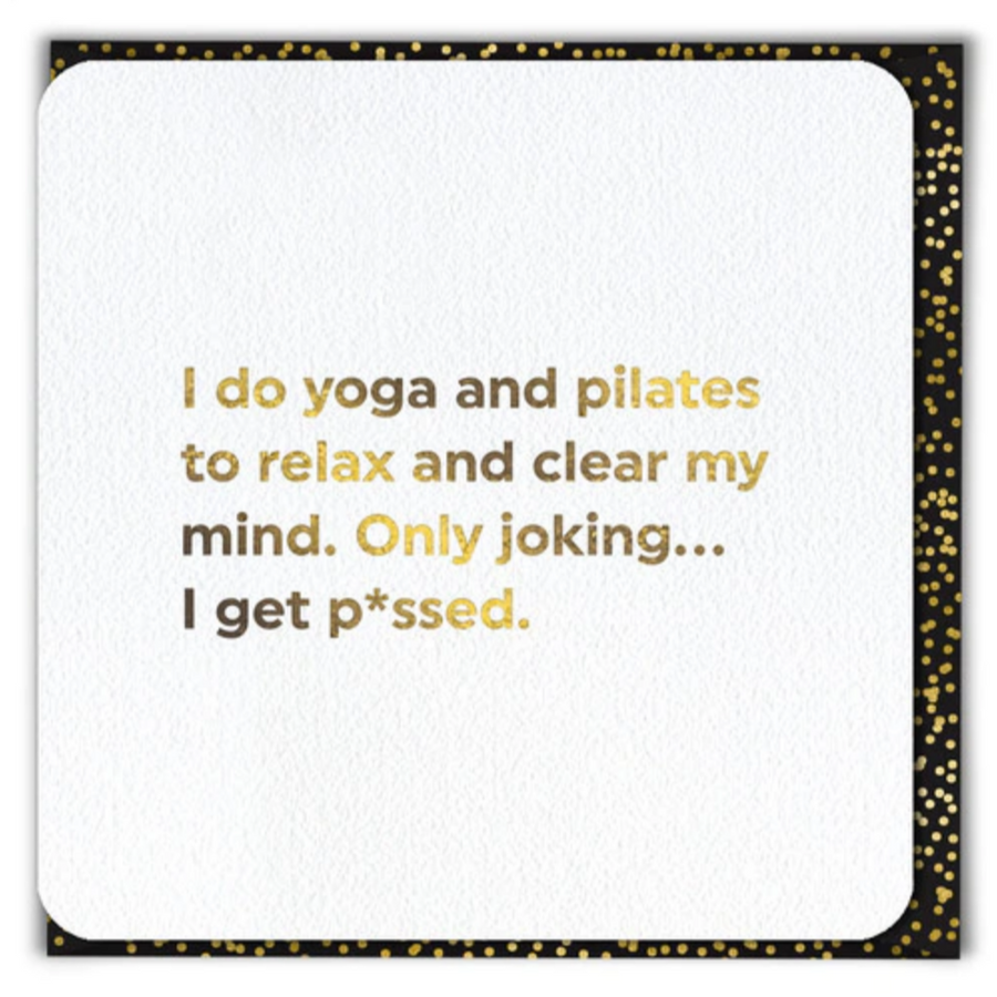 CARD | YOGA & PILATES