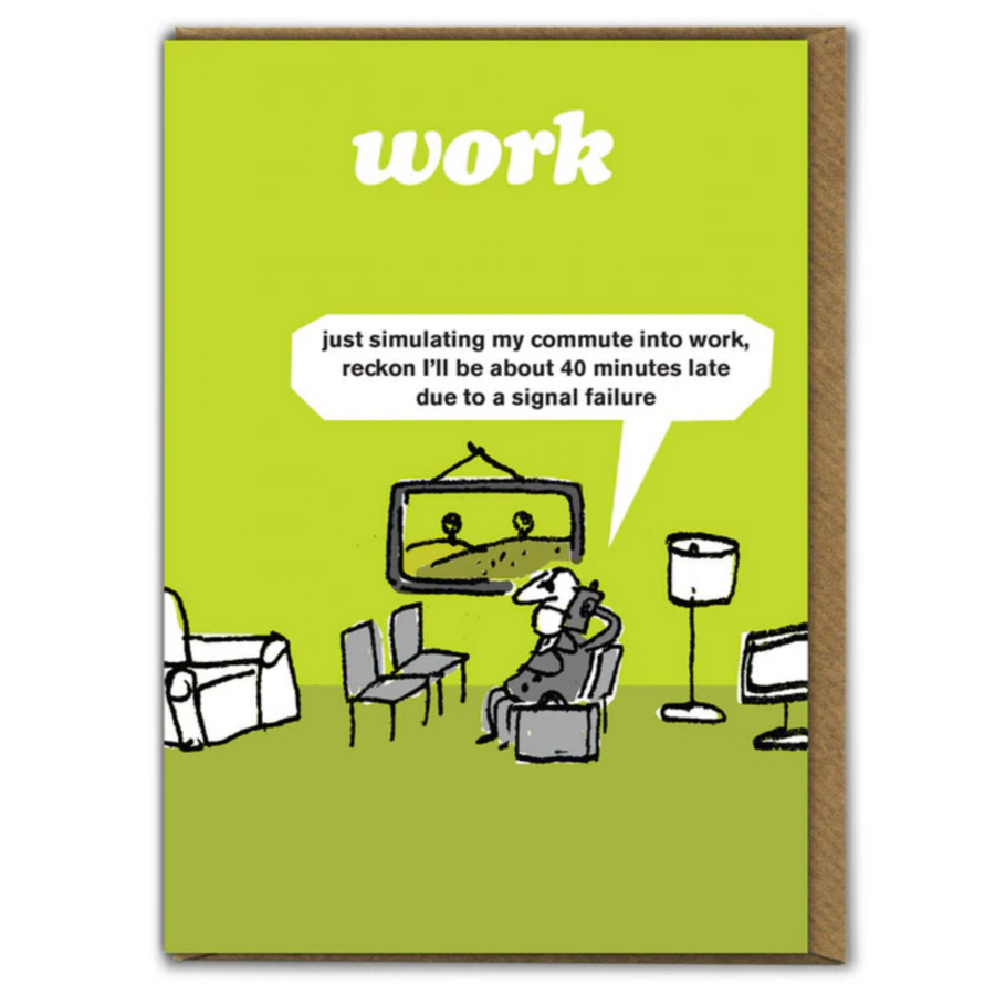 CARD | WORK COMMUTE CARD