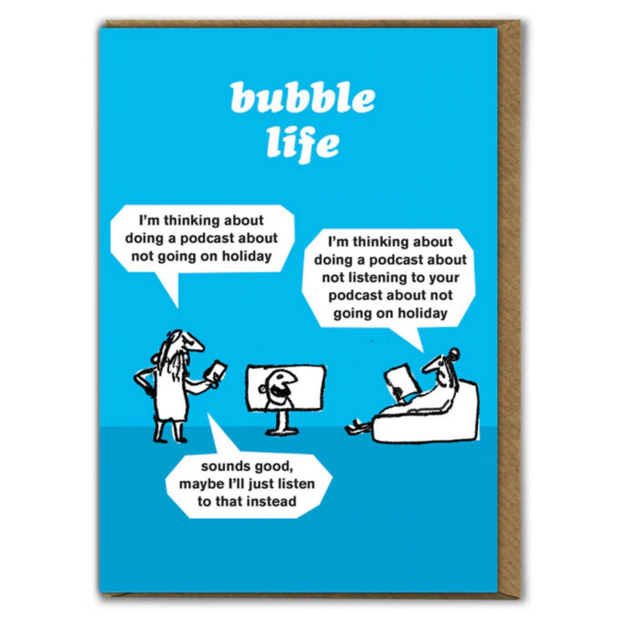 CARD | BUBBLE LIFE PODCAST
