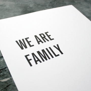 A3 MUSIC LYRICS | WE ARE FAMILY