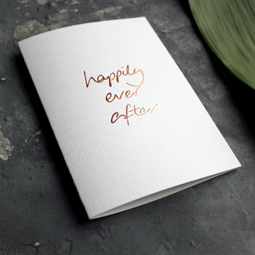 CARD | HAPPILY EVER AFTER