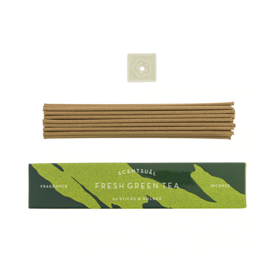 SCENTSUAL JAPANESE INCENSE | FRESH MATCHA