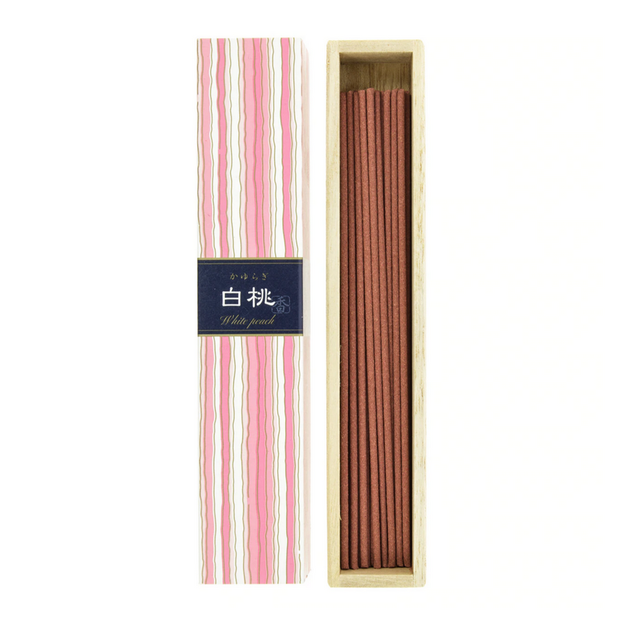 KAYURAGI JAPANESE INCENSE | WHITE PEACH