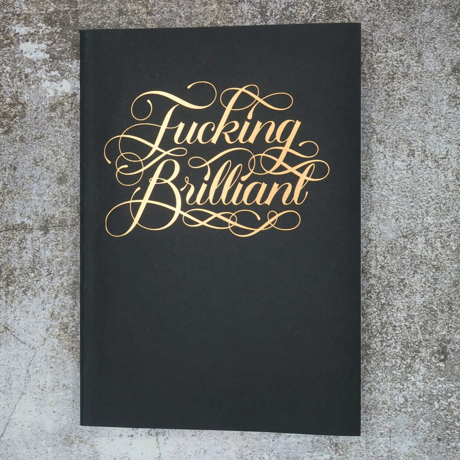F*CKING BRILLIANT NOTEBOOK