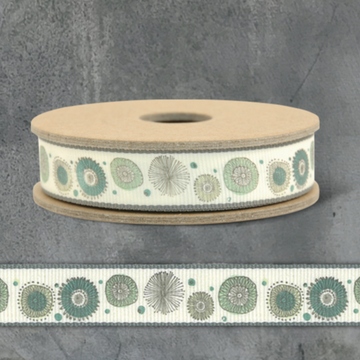 RIBBON BY THE METRE | SPRING FLOWER CREAM