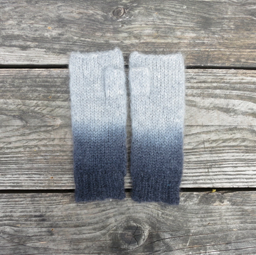 DIPDYE ETHICAL MOHAIR WRIST FINGERLESS WARMER