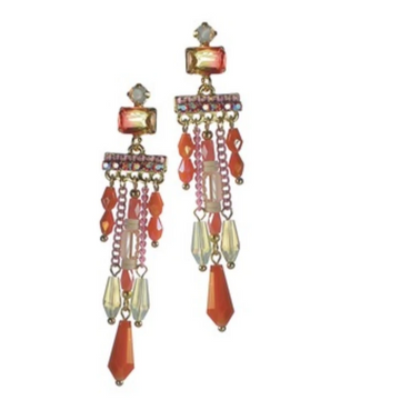 MOULIN ROUGE CASCADE EARRINGS