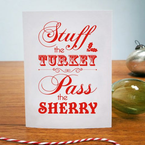 CARD | STUFF THE TURKEY