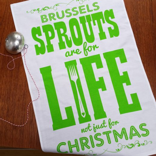 SPROUTS ARE FOR LIFE TEATOWEL