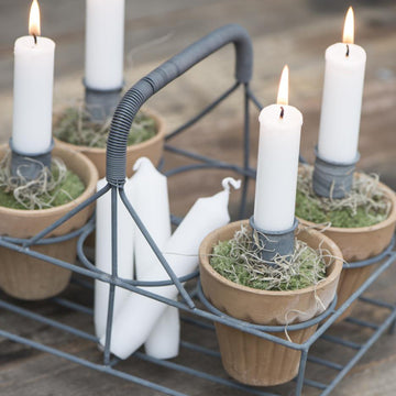SHORT DINNER CANDLE | BUNDLE OF 7