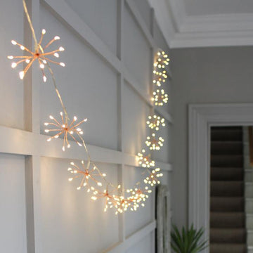 BATTERY STARBURST CHAIN INDOOR|OUTDOOR LIGHTS 1.8M