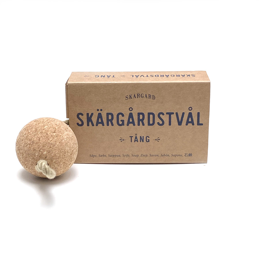 SWEDISH SKARGARD SOAP BAR WITH CORK