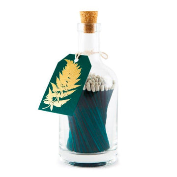 BOTTLE OF MATCHES | GOLD FERN