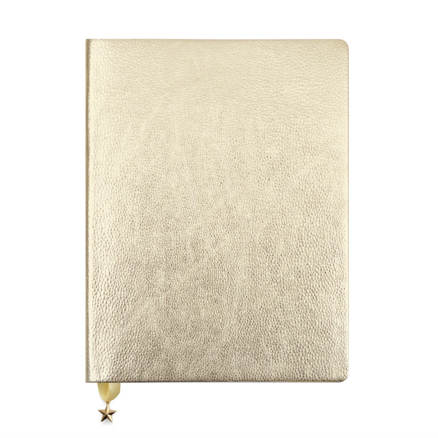 LARGE GOLD JOURNAL