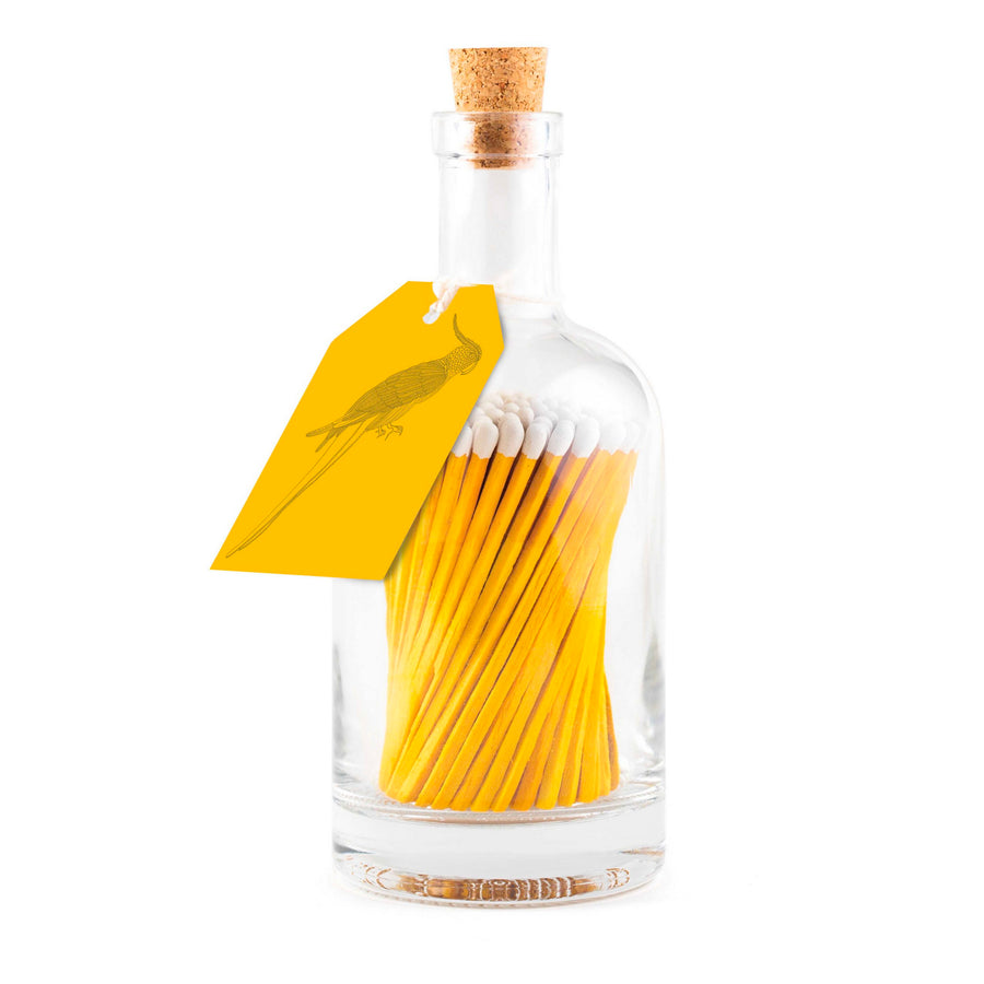 BOTTLE OF MATCHES | YELLOW PARROT