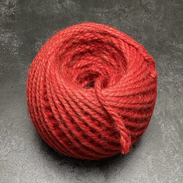 CHUNKY BRIGHT RED BALL OF STRING