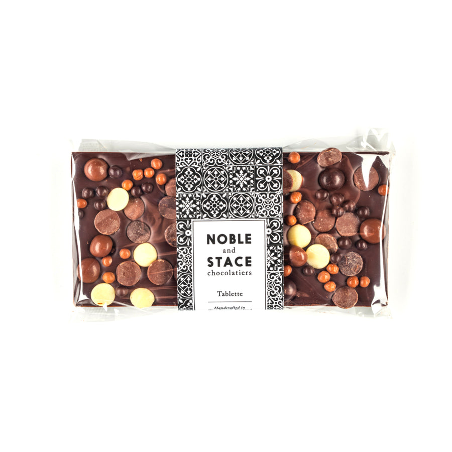 LARGE DARK CHOCOLATE TABLETTE | LOADED