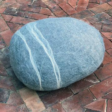 GIANT FELT PEBBLE