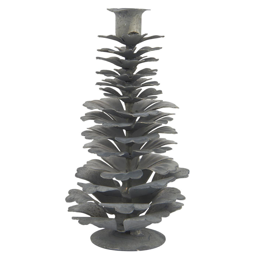 METAL PINECONE FOR TAPER CANDLE