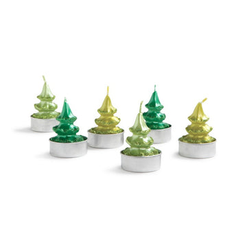 PINE TREE TEALIGHTS | 6