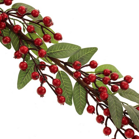 RED BANEBERRY GARLAND