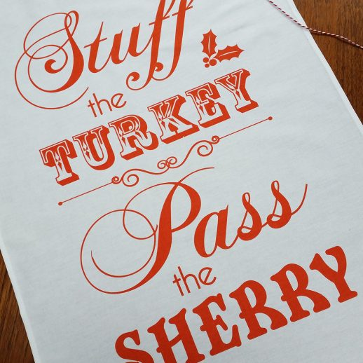 STUFF THE TURKEY TEATOWEL