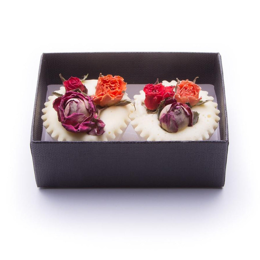 ROSE GERANIUM & LAVENDER BATH MELTS | BOX 2