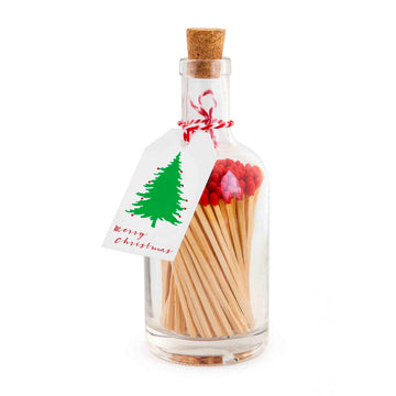 BOTTLE OF MATCHES | MERRY CHRISTMAS TREE