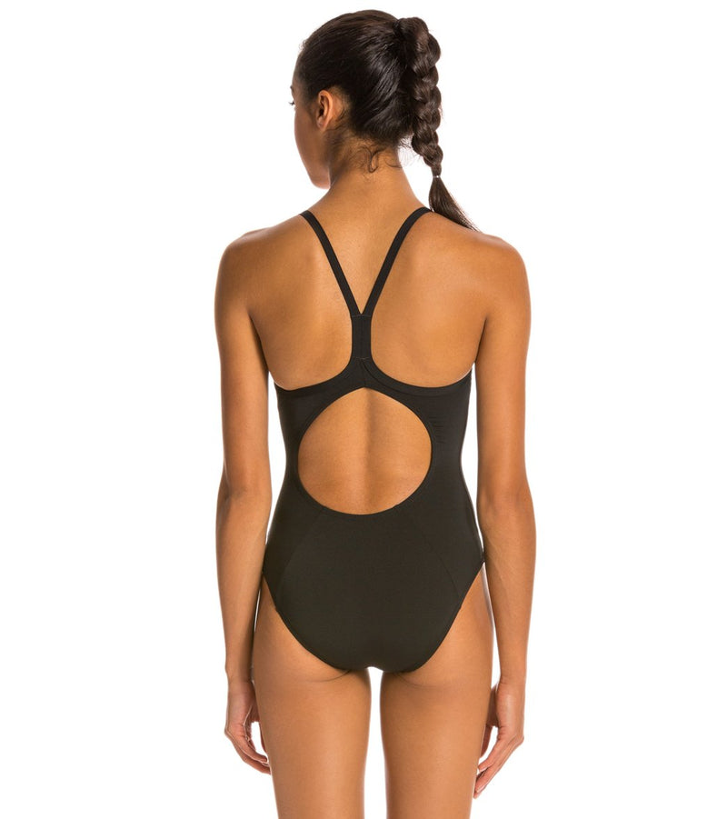 Arena Women's Master MaxLife Sporty Thin Strap Racer Back One Piece Swimsuit