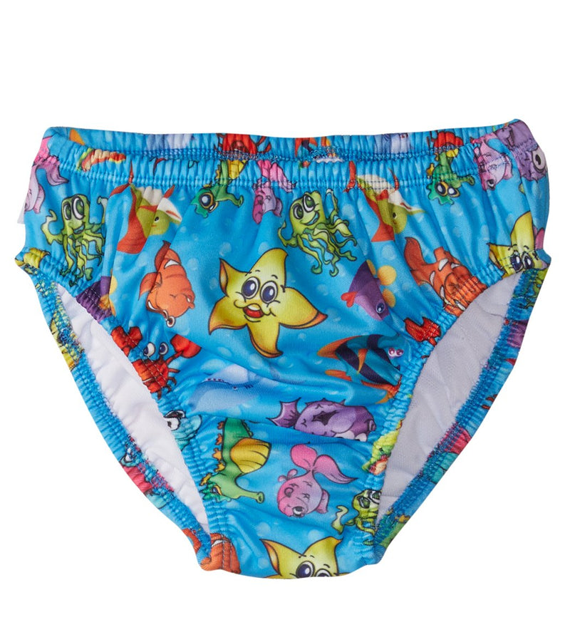FINIS Fishbowl Blue Swim Diaper