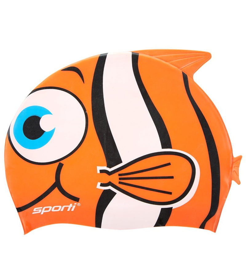 Sporti Cartoon Swim Cap Jr.
