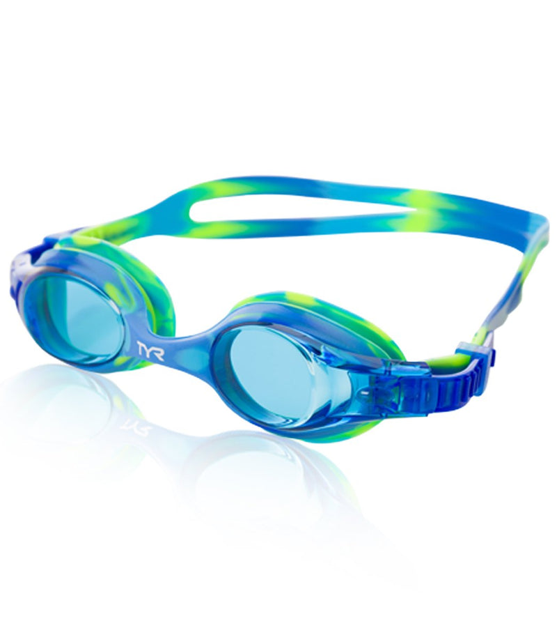 TYR Kids' Swimple Tie Dye Goggles- Kuwait Local shipping (1-3 Days)