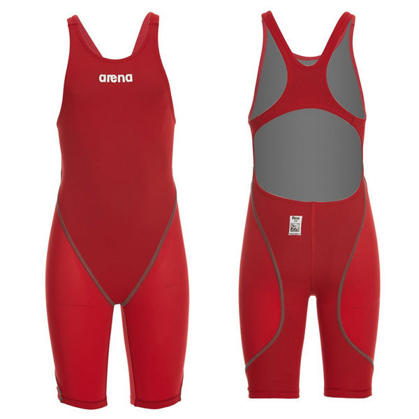 Arena Girls' Powerskin ST 2.0 Open Back Tech Suit Swimsuit