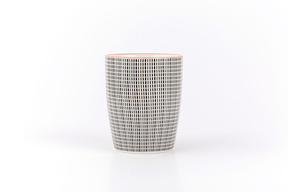 Asian printed ceramic cup