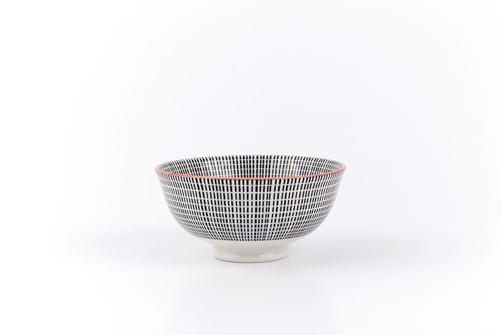 Asian printed ceramic bowl