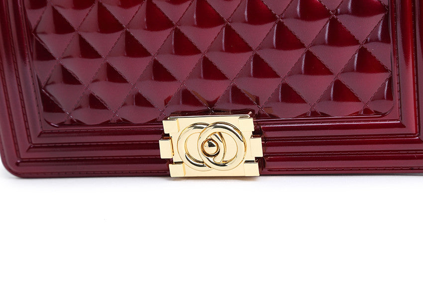 Chance Wine Red with gold hardware