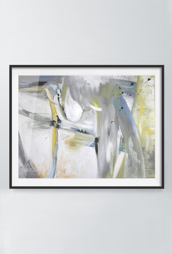 Bruma Ray | Art Prints | Blue & Grey