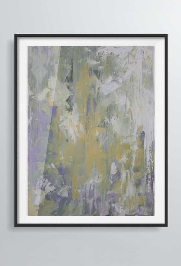 Marea Haze | Art Prints | Purple & Yellow