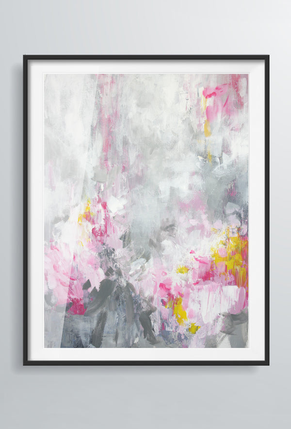 Rosa Nina | Art Prints | Pink & Grey