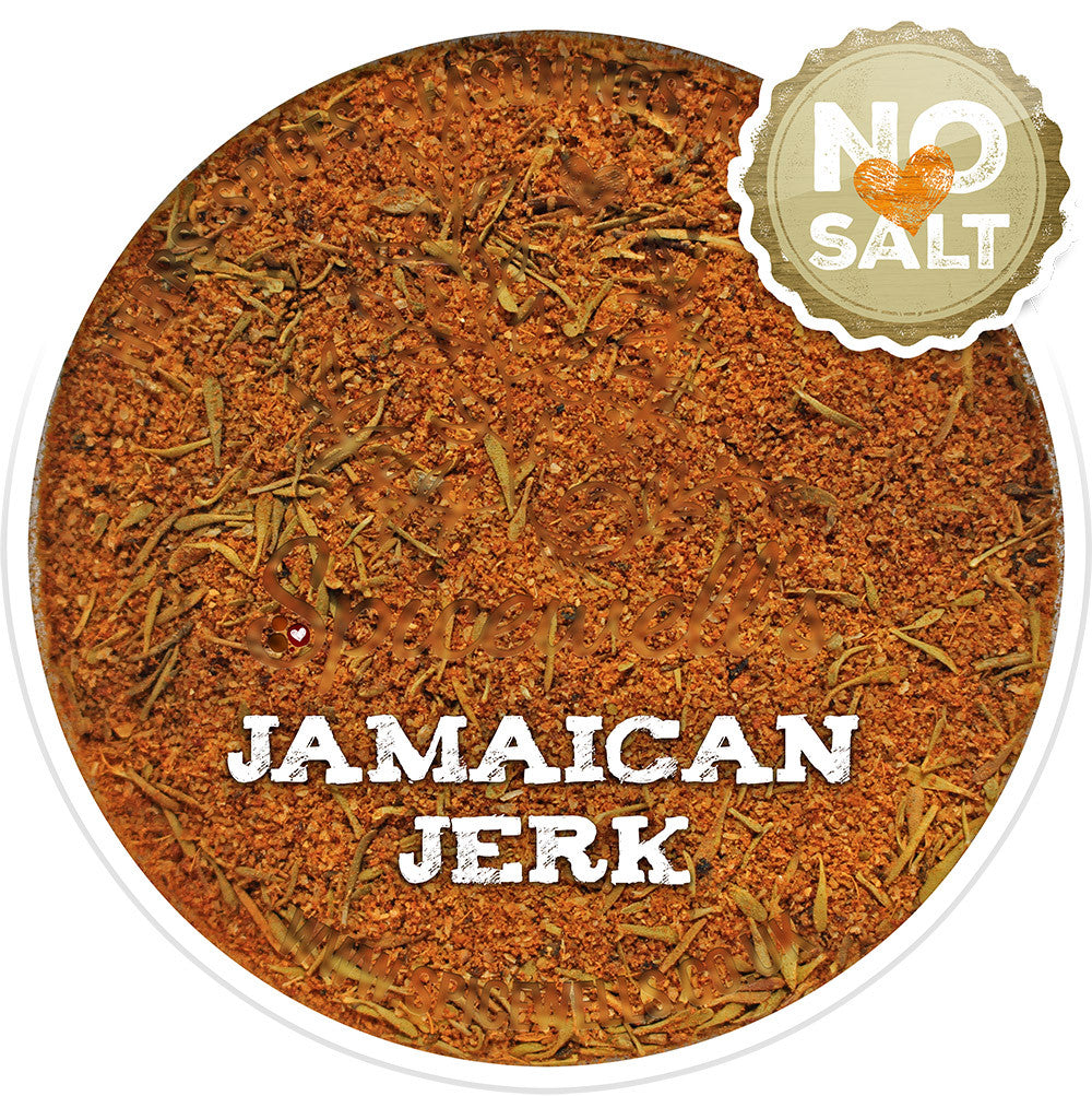 Jamaican Jerk - No Salt, Spice Blend from Spicewells, UK