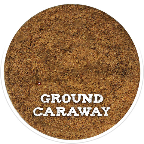 Caraway Seeds, Ground, Ground Spice from Spicewells, UK