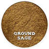 Sage, Ground, Dried Herbs from Spicewells, UK