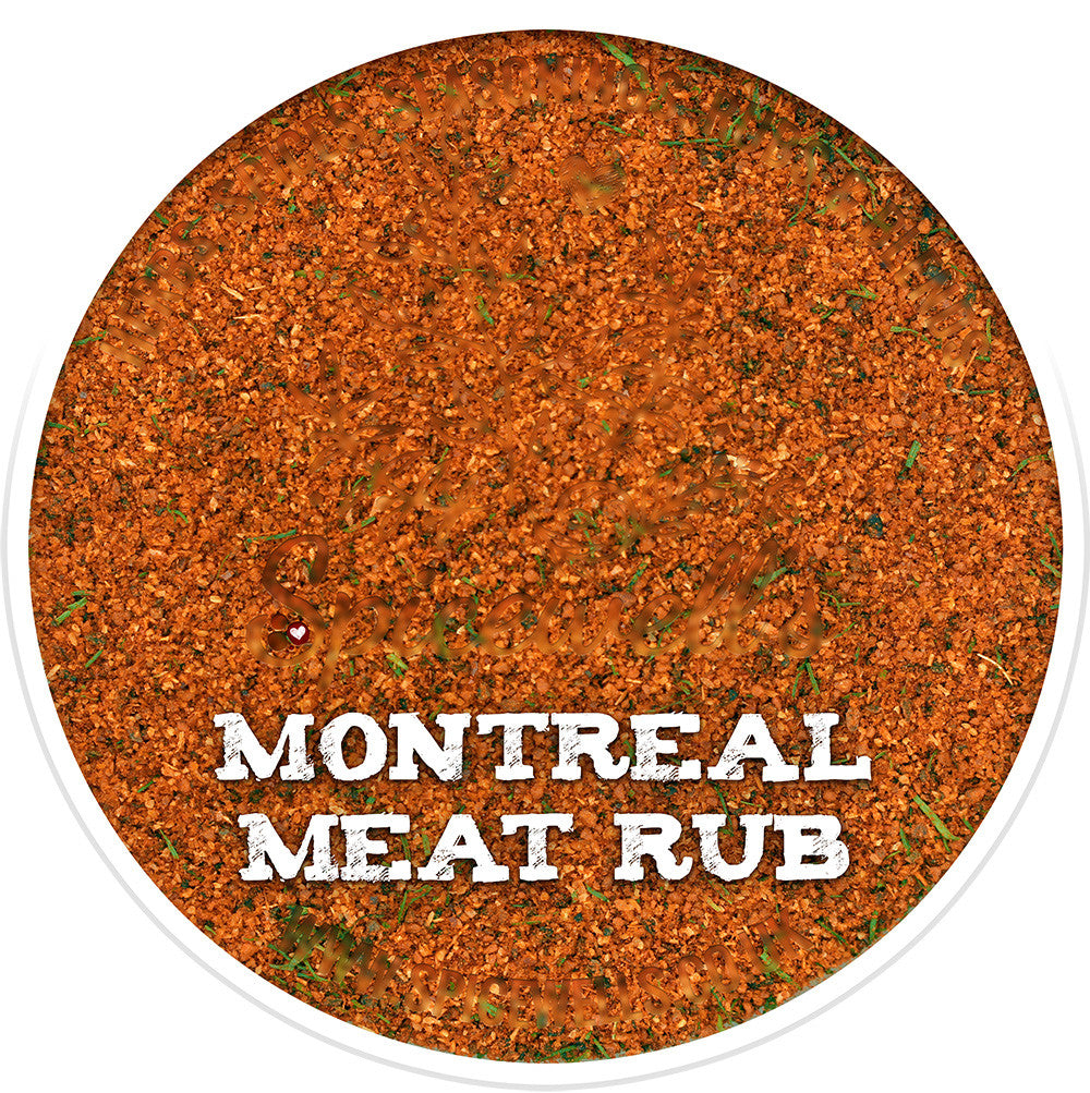 No Salt Montreal Meat Rub, Spice Blend from Spicewells, UK