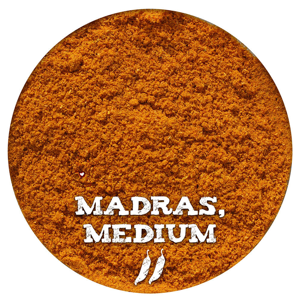 Madras Curry, Medium, Spice Blend from Spicewells, UK