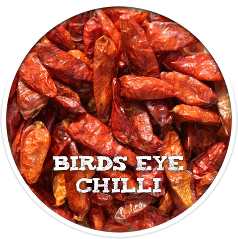 Birds Eye Chillies, Whole Spices from Spicewells, UK