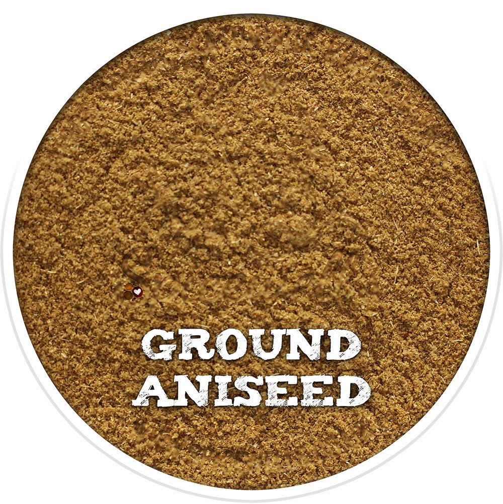 Aniseed, Ground, Ground Spice from Spicewells, UK