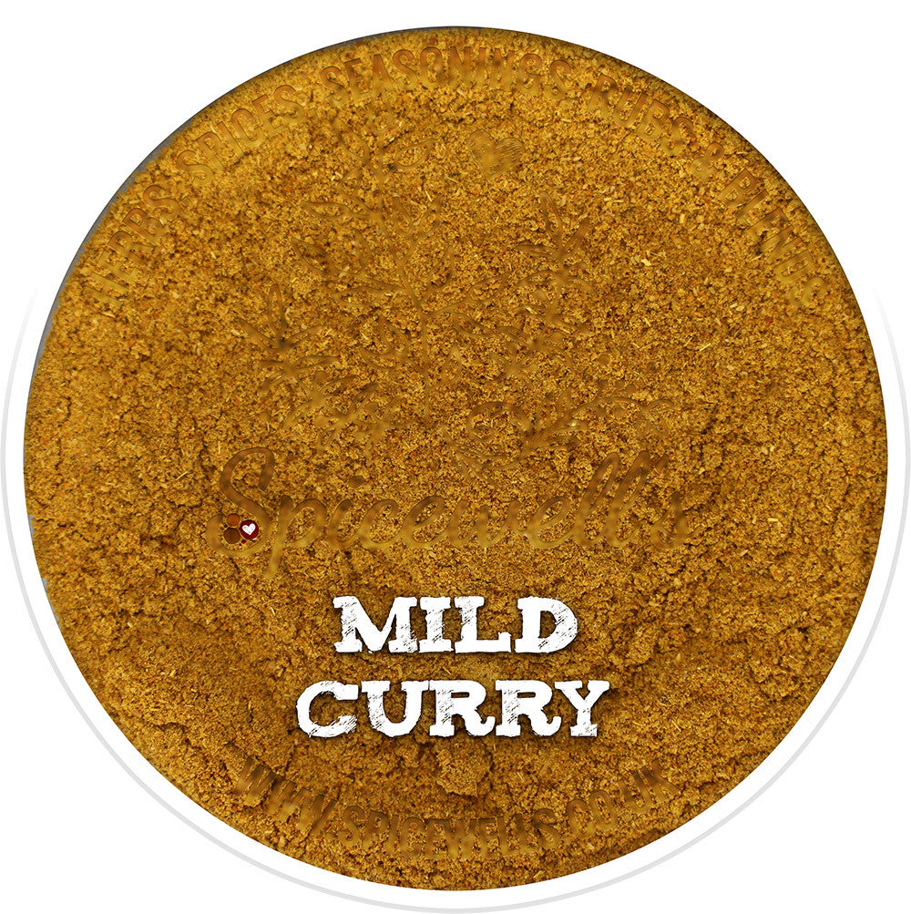 Mild Curry, Spice Blend from Spicewells, UK