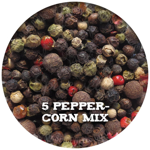 5 Peppercorn Mix, Seasoning from Spicewells, UK
