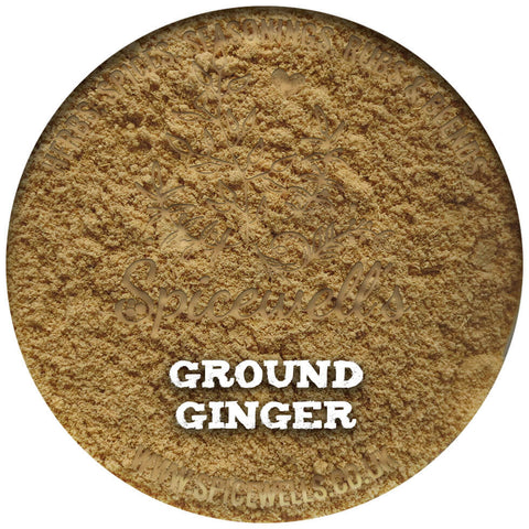 Ginger, Ground, Ground Spice from Spicewells, UK